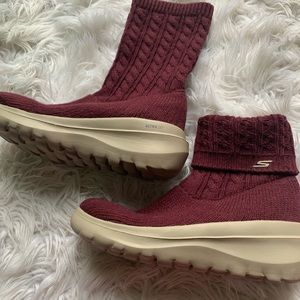 Skechers Ultra Go Air Cooled Goga Mat booties